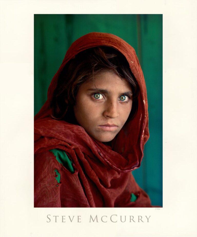 Afgan Girl, by Steve McCurry