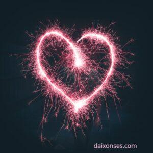 amor - corazón de energía